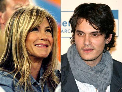Jennifer Aniston& John MayerGeçen hafta yeni sevgilisi şarkıcı John Mayer'le yakalanan Jennifer Aniston da genç sevgili sevenler kervanında. John Mayer 30, Aniston ise 39 yaşında.